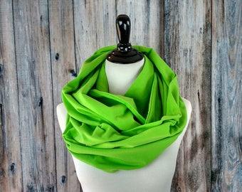 St. Patrick's Day - Infinity Scarf - Chunky Scarf -Oversized Infinity Scarf - Green Scarf - Green Infinity Scarf