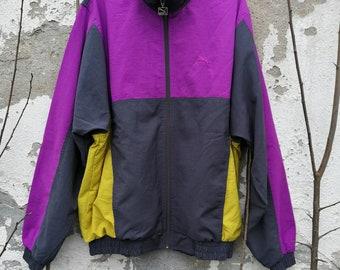 Vintage Puma Shelljacket windbreaker 90s s