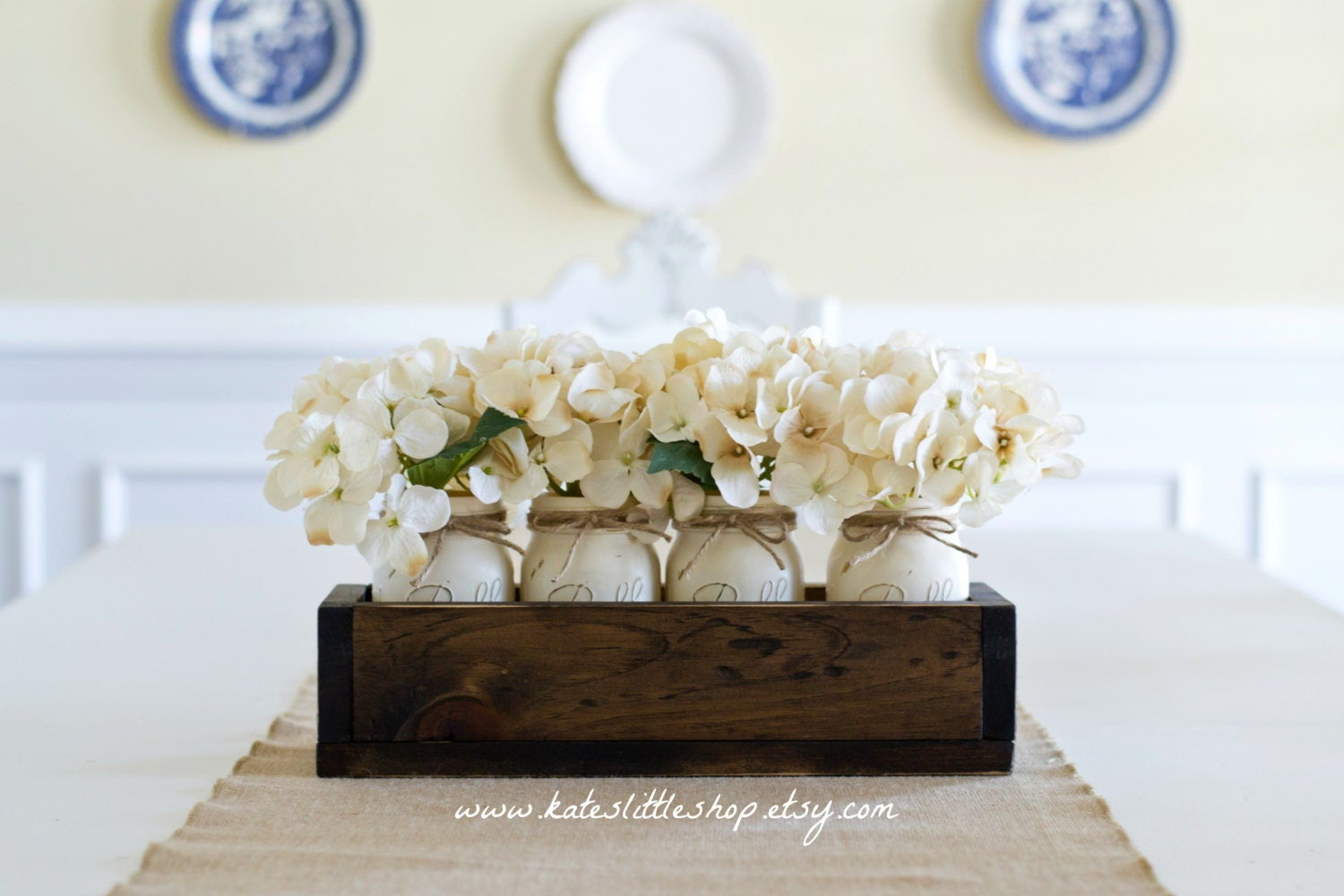 Spring Summer Mothers Day Rustic Home Decor Planter Box