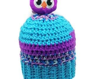Owl Crochet Hat - Winter Hat - Beanie - Crochet Hat Baby - Crochet Beanie - Crochet Beanie Hat - Kids Crochet Hat - Crochet Baby - Baby