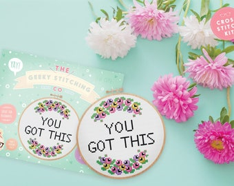 Cross Stitch Kit *** You got this ***
