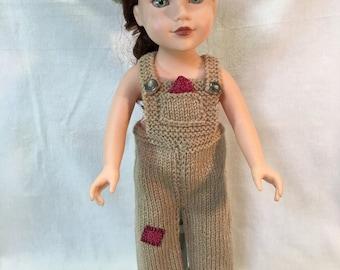18 Inch Doll America Girl Overalls