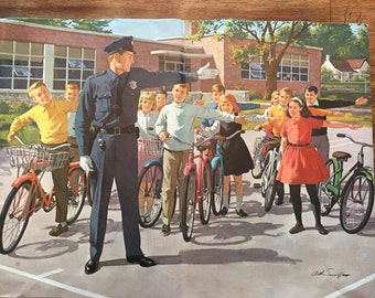 1950s Americana Arthur Sarnoff print