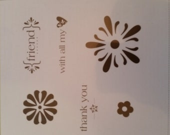 """Stampin' Up! """"With All My Heart"""" Stamp set"""