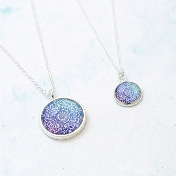 Cosmos Mandala Necklace