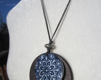 African Circle Pendant Necklace
