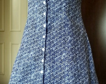 2 Sun Dresses in 1! Reversible size 4