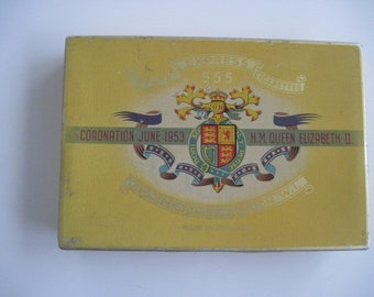 State Express 1953 Jubilee cigarette tin (25/empty)  c.1953