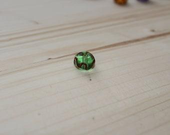 Viking glass bead from birka