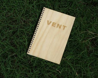 Vent Wood Notebook