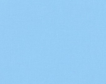 Lake Kona Cotton, Blue Fabric, Robert Kaufman Fabric, Half Yard