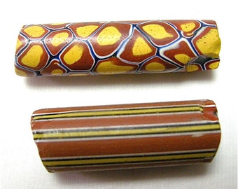 Vintage Large African Trade Beads x 2