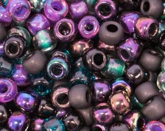 SARI Toho 3/0 Glass Seed Bead Mix - 20 grams - Sari Toho Bead Mix - 3/0 Sari E Bead Mix, 4194 - Exclusive Mix to SupplyEmporium