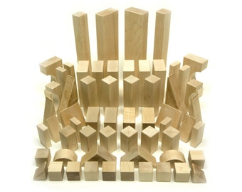 Maple Building Blocks - 60 pc. Deluxe Set
