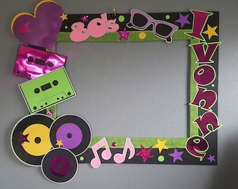 80's Themed Photo Frame