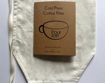 Cold Press Filter - Cold Brew Filter - Cold Press Coffee Bag - Cold Brew Coffee Bag