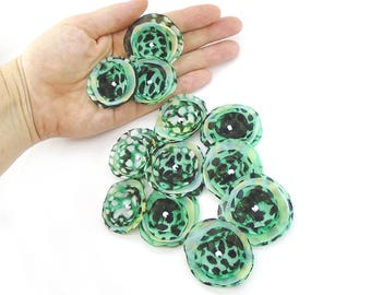 Soft Light Green Fabric Flowers, Embellishments, Flower Appliques, Fabric Flowers For Headband Flowers, Fabric Roses, Wedding Decorations,