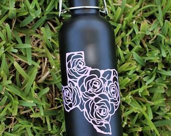 Texas Rose Water Bottle