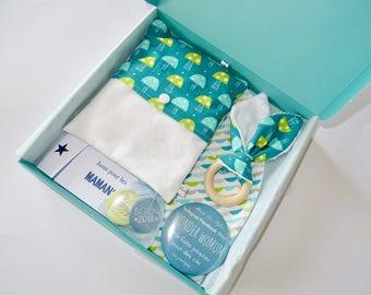 My Birth Box : coffret cadeau naissance champignons