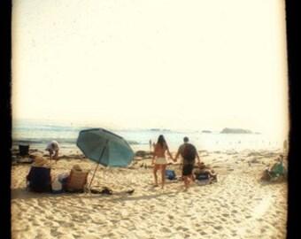 Beach Couple - 12x12 Fine Art Photographic Print