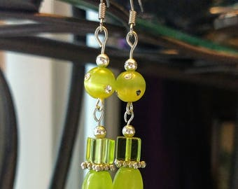 Lucky green Earrings