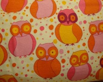 Valori Wells little Owls FLVW02 fleece Velvet