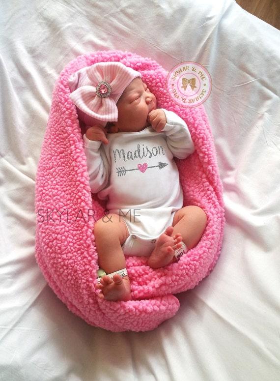 Traje de recién nacido hospital traje atuendo casero que