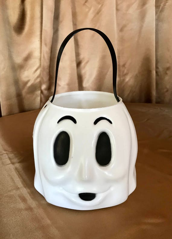 23d248db38 Vintage Empire Ghost Halloween Trick or Treating Bucket Blow