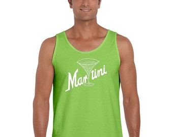 Men's Tank Top - Martini