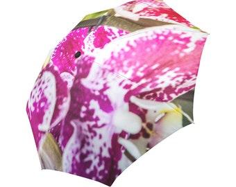 Flower Umbrella Orchid Umbrella Pink Umbrella Designed Umbrella Photo Umbrella Rainbow Umbrella Photo Umbrella Automatic Abstract Umbrell