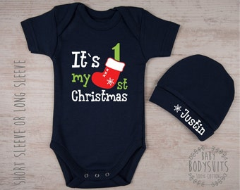 My First Christmas Baby Girl Outfit Christmas Baby Dress Set