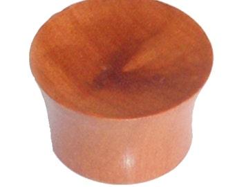 Sonoholz plug grain curvature Holzplug hand-carved tribal tunnel ear plugs Expander (No. HPT-112)