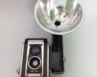 Vtg Kodak Eastman Duaflex IV Camera | Flash Kodet Lens | Vintage Photography 50s 60s 1950s 1960s | Photo Photogragh