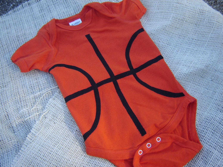 Custom basketball bodysuitshirt not personalized orange zoom negle Choice Image