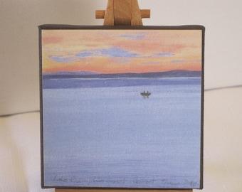 Lake Champlain Sunset, Vermont