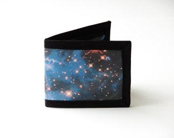 Carina Nebula Billfold Wallet - Vegan Friendly