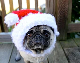 Dog Hat - Santa Christmas Cheer/Made to Order