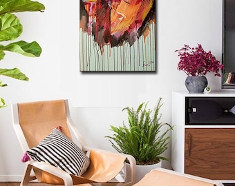 Abstract Painting, Acrylic Painting, Canvas art, Original Painting, Wall Decor, Wall Art, Home Decor, Large Wall Art, Fine Art, Large Art