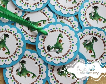 The Good Dinosaur Favor Tags
