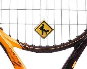 Obscene Gesture Positions Vibration Dampener 2 Pack by Racket Expressions. Great tennis gifts! Fun tennis gift idea sure to get laughs!