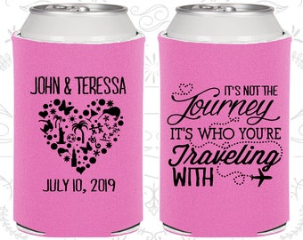 Its not the Journey, Its who your traveling with, Wedding Giveaways, Destination Wedding, Destination Gifts, Destination Favors (454)