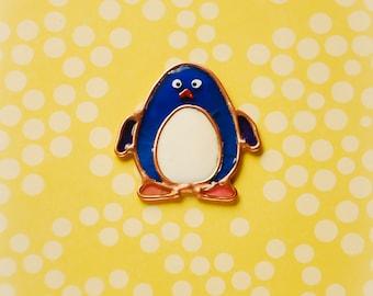 Penguin brooch. Winter brooch. New year brooch. Penguin. North brooch. Christmas brooch. Funny brooch. Cute brooch.