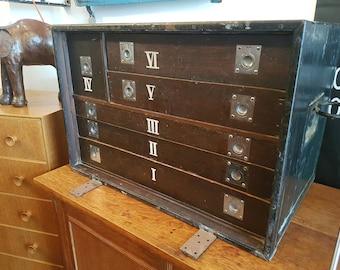 SOLD: 1930s/40s Specimen/Collectors Cabinet/Drawers. Unique/Antique/Quirky/Vintage
