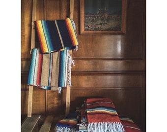 Serape Throw Blanket