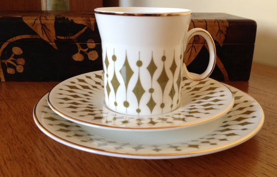 Like this item? & Retro Hostess Tableware GREENWAY Teacup Trio Cup