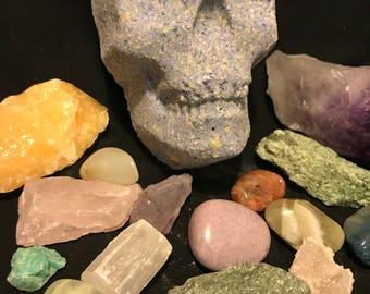 Skull Bath Bombs | Halloween | October | Skull Bath Fizzy | Skulls | Halloween Theme | Skull Theme | Dark Bath Bombs | Bath Fizzies