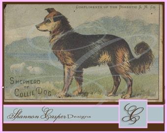 Large Vintage Ephemera Digital Image #57 ~ Instant Download