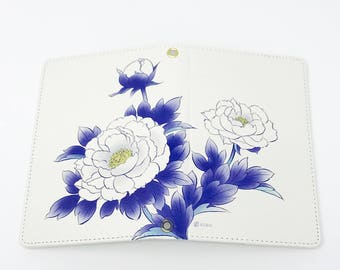 Passport Cover - Pepny / Indigo Blue