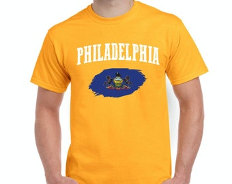 Philadelphia Pennsylvania Men Shirts T-Shirt Tee
