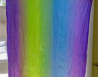 4 Rainbow Curtain panels